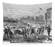Chicago: Cattle Market Tapestry