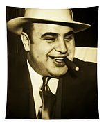 Chicago Gangster Al Capone Tapestry