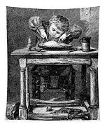 Child Eating, 1875 Tapestry