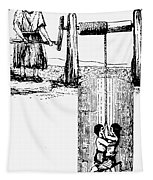 Child Labor, 1842 Tapestry