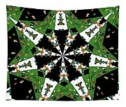 Children Animals Kaleidoscope Tapestry