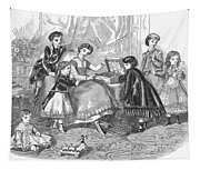 Childrens Fashion, 1868 Tapestry