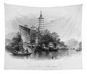 China: Golden Island, 1843 Tapestry