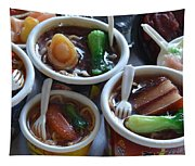 Chinese Food Miniatures 1 Tapestry