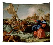 Christ At The Sea Of Galilee Tapestry