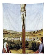 Christ Crucified Tapestry