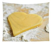 Christmas Cookie Heart Shape Tapestry