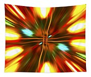 Christmas Light Abstract Tapestry