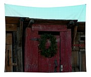 Christmas Out House The Perfect Gift For Those On The Go Tapestry