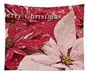 Christmas Poinsettias Tapestry