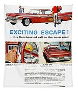 Chrysler Ad, 1959 Tapestry