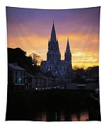 Church In A Town, Ireland Tapestry