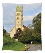 Church In Meersburg Germany Tapestry