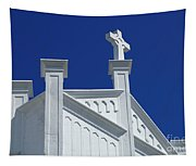 Church Key West Florida Tapestry