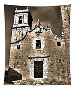 Church Of The Virgen De La Ermitana - Peniscola  Tapestry