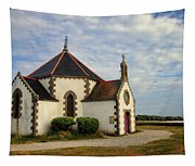 Church Off The Brittany Coast Tapestry