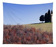 Church On A Hill Tapestry