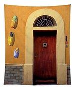 Cicada Door Arles France Tapestry