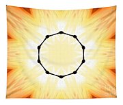 Circle Of Light Tapestry