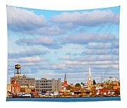 City View Four Tapestry