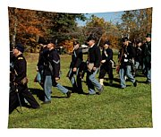 Civil Soldiers March Tapestry