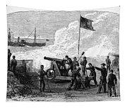 Civil War Battery Tapestry