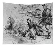 Civil War: Union Infantry Tapestry