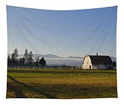 Classic Barn In The Country Tapestry