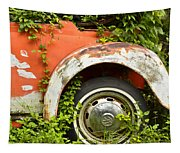 Classic Car Forgotten Tapestry