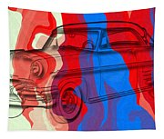 Classic Mercury Abstract Tapestry