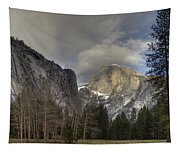 Clearing At Half Dome Tapestry