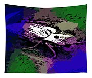 Click Beetle On Porsche Tapestry