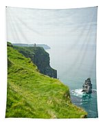 Cliff Of Moher 24 Tapestry