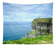 Cliff Of Moher 34 Tapestry