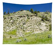 Cliff Side Panorama Tapestry