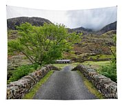Climbers Lodge Tapestry