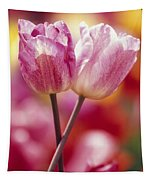 Close-up Of Tulips Tapestry
