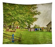 Clothes On The Line Tapestry