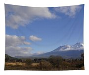 Clouds And Mt Shasta In Autumn Tapestry