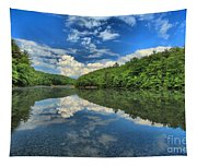 Clouds In The Lake Tapestry