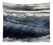 Clouds In The Valley Tapestry