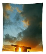 Clouds Over A Tomb, Poulnabrone Dolmen Tapestry