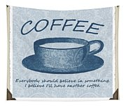 Coffee 1 Scrapbook Tapestry