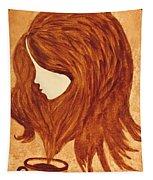Coffee Break Coffee Painting Tapestry