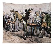 Colonial Coffee House Tapestry