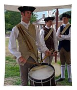Colonial Drummer Tapestry