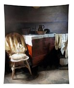 Colonial Nightclothes Tapestry
