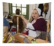 Colonial Wigmaker Tapestry