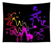 Color Melting Abstract Tapestry