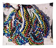 Colorful Beads Jewelery Tapestry